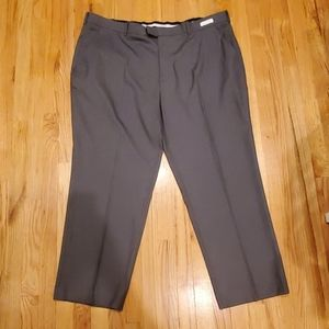 Men's classic fit plain from dress pants